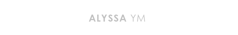 Alyssa YM Photography logo